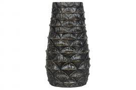 Krukke / vase Palme Brunt Guld 19,5x35cm , hemmetshjarta.dk
