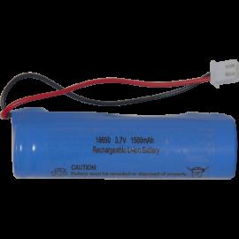 Batteri 18650 3,7V 1500mAh Li-Ion JST-PH 2mm plug , hemmetshjarta.dk