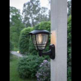 Solcelle væglampe Felix , hemmetshjarta.dk