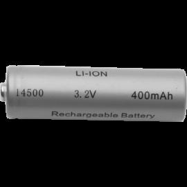 Genopladeligt batteri 14500 3,2V 400 mAh Li-Ion , hemmetshjarta.dk