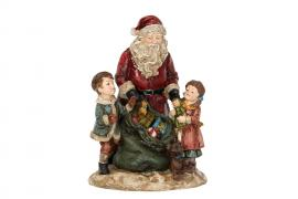Julemanden / Børn julegave Poly 16,5x16x24cm , hemmetshjarta.dk
