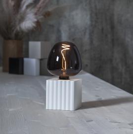 Lampeholder E27 Box 10x10 Hvid , hemmetshjarta.dk