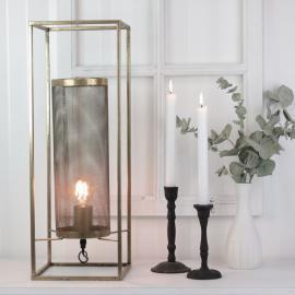 Lampe Industri 56 cm - antik guld , hemmetshjarta.dk