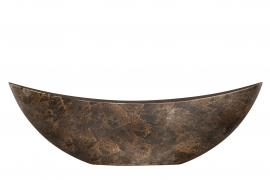 Hårdplast Rost Krukke/Gondol 55x12x17cm , hemmetshjarta.dk