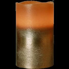 Batteridrevet Bloklys LED Cooper 7,5x12,5cm , hemmetshjarta.dk