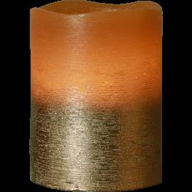 Batteridrevet Bloklys LED Cooper 7,5x10cm , hemmetshjarta.dk