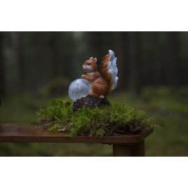 Solcelledekoration Squirrel , hemmetshjarta.dk