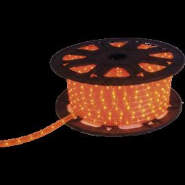 Lysslange Ropelight Micro Reel Udendørs Orange 1620 lys 4500cm , hemmetshjarta.dk