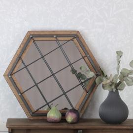 Spejl net 38x43 cm , hemmetshjarta.dk