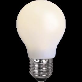 LED-Pære E27 Outdoor Lighting A55 Opal , hemmetshjarta.dk