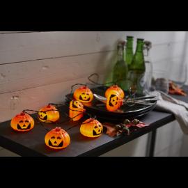 Lyskæde Batteridrevet Halloween Udendørs Kold Hvid 8 Lys 210cm , hemmetshjarta.dk