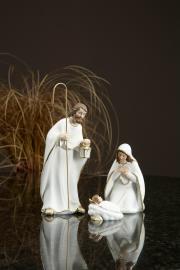 Josef, Maria & Jesus Poly 7,5x6x19,5cm 3-pack , hemmetshjarta.dk