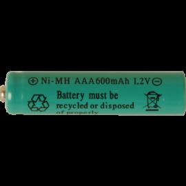 Genopladeligt batteri AAA 1,2V 600mAh NI-MH 2-pak , hemmetshjarta.dk