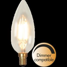 LED-Pære E14 Soft Glow C45 Dim , hemmetshjarta.dk