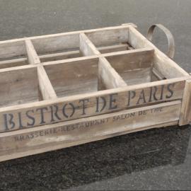 Trækasse Bistrot de Paris 50 cm , hemmetshjarta.dk
