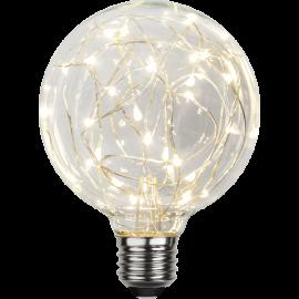 LED-Pære E27 Decoled G95 , hemmetshjarta.dk