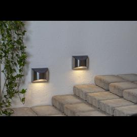 Solcelle væglampe Wally 2-pack , hemmetshjarta.dk