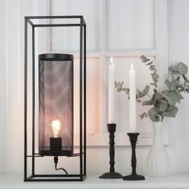 Lampe Industri 56 cm - sort , hemmetshjarta.dk