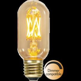 LED-Pære E27 Vintage Gold T45 Dim , hemmetshjarta.dk