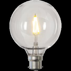 LED-Pære B22 Outdoor Lighting G95 , hemmetshjarta.dk