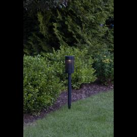 Solcellelampe stolpe Blace , hemmetshjarta.dk
