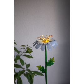 Solcelledekoration Daisy , hemmetshjarta.dk