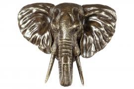 Elefanthode/Vegg 56 cm - brun/cham , hemmetshjarta.dk