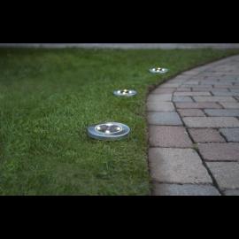 Solcellebelysning Lawnlight 3-pack , hemmetshjarta.dk