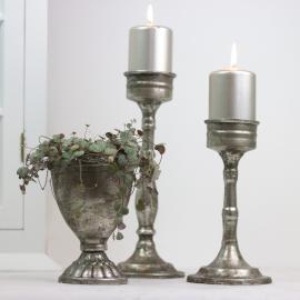 krukke Krone 15 cm - antik sølv , hemmetshjarta.dk