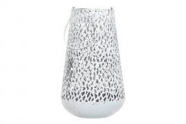 Lanterne Alba Hvid 20x33,5cm , hemmetshjarta.dk
