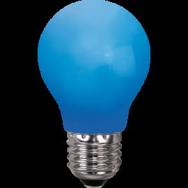 LED-Pære E27 Outdoor Lighting A55 Blå , hemmetshjarta.dk