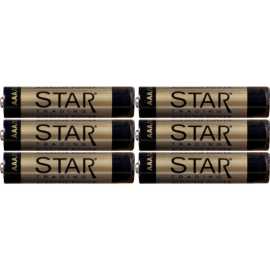 Batteri AAA 1,5V Power Alkaline 6-pack , hemmetshjarta.dk