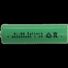 Genopladeligt batteri AA 1,2V 2000 mAh Ni-MH 2-pak , hemmetshjarta.dk