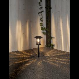 Solcellelampe stolpe Florian , hemmetshjarta.dk