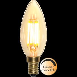 LED-Pære E14 Soft Glow C35 Dim , hemmetshjarta.dk