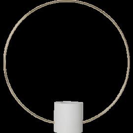 Lampeholder E27 Forever Hvid/Guld 35x37 , hemmetshjarta.dk