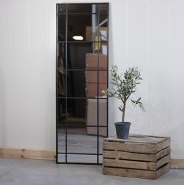 Spejl 153 cm - Antik sort , hemmetshjarta.dk