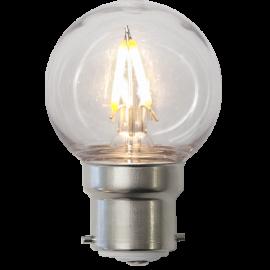 LED-Pære B22 Outdoor Lighting G45 , hemmetshjarta.dk