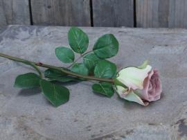 Fleur Rose H40 cm lavendel , hemmetshjarta.dk