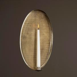 Lampett Antik Messing 26,5x41,5 cm , hemmetshjarta.dk