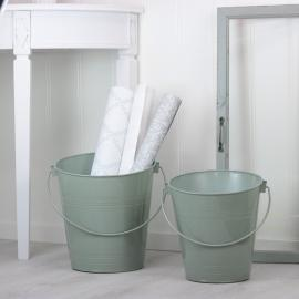 Spande 2-pack - grøn , hemmetshjarta.dk