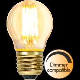 LED-Pære E27 Soft Glow G45 Dim , hemmetshjarta.dk