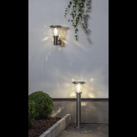 Solcelle væglampe Piræus , hemmetshjarta.dk