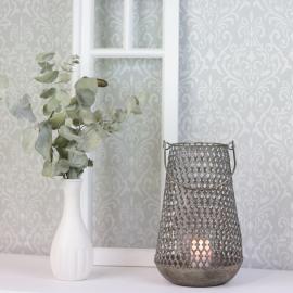 Lanterne Kira 28,5 cm - gyldenbrun * , hemmetshjarta.dk