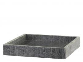 Uge 40 Morlaix Bakke af marmor H4/L30/B30 cm kul , hemmetshjarta.dk