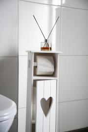 Træskab til toiletruller 70 cm , hemmetshjarta.dk