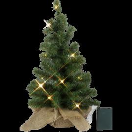Dekorationstræ Toppy Batteridrevet Varm Hvid 10 lys 45cm , hemmetshjarta.dk