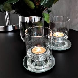 Lanterne Krystall på SpejlFad , hemmetshjarta.dk