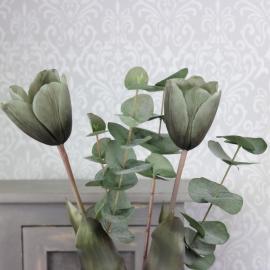 Kunstig Tulipan 58 cm 1 st , hemmetshjarta.dk