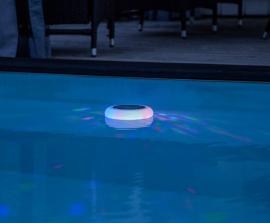 Solcelledekoration Pool light , hemmetshjarta.dk